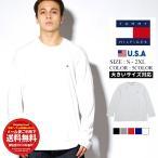 トミーヒルフィガー TOMMY HILFIGER ロンT 長袖Tシャツ メンズ レディース 薄手 USAモデル CORE FLAG LONG SLEEVE 09T311