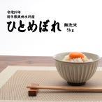 28年度岩手県奥州水沢産ひとめぼれ 無洗米 5kg 送料無料