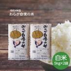 《28年度版》おらが自慢の米 白米 10kg (5kg×2袋) 岩手の米屋オリジナルブレンド米 送料無料