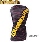 ラウドマウスゴルフ Loud Mouth Golf ヘッドカバー ヘッドカバー DR用 You Jane 114