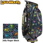 規格ラウドマウス 2019 9型 キャディバッグ Jolly Roger Black ジョリーロジャー ブラック LM-CB0009 76999620119SS