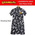 日本規格 レディース ラウドマウス 2018 半袖 ワンピース (シューティングスター Shooting Stars) 768657(119) 春夏 18SS Loudmouth ゴルフ レディースウェア