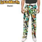 ラウドマウス Loudmouth ゴルフ メンズウエア ロングパンツ スリムカット Shank! シャンク 新品 17SS Pants Slim Cut