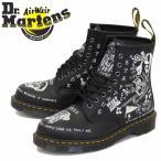 Dr.Martens (ドクターマーチン) 25245009 1460 SCRIBBLE スクリブル 8ホール レザーブーツ BLACK