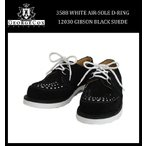 George Cox(ジョージコックス) 3588 WHITE AIR SOLE エアーソール 12030 D-RING GIBSON ギブソン ブラックスエード