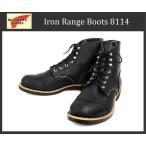 ショッピングRANGE RED WING(レッドウィング) 8114 IRON RANGE BOOTS(アイアンレンジブーツ) Black Harness Leather