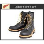 RED WING(レッドウィング) 8210 LOGGER BOOTS ロガーブーツ Black Chrome Leather ブラッククロームレザー