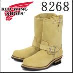 ショッピングレッドウイング Red Wing(レッドウィング レッドウイング)8268 ENGINEER BOOTS(エンジニアブーツ) ベージュ・ラフアウト(スエード)