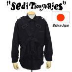 666 SEDITIONARIES(セディショナリーズ) Parachute Shirt(パラシュートシャツ) 黒 ブラック