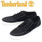 Timberland (ティンバーランド) A2DMQ UNION WHARF L/F DERBY SNEAKER ユニオンワーフ レザー&ファブリック ダービースニーカー Black Canvas TB128
