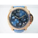 送料無料!《腕時計/ウォッチ》Marina Militare マリーナミリターレQuartz カレンダー 腕時計 MM-MQ4004GF ブルー 青【中古】