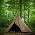 受注生産商品 Tschum チャン 4P KATUN tent nut brown カトゥン 4P ナッツブラウン ティピー テント