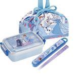 アナと雪の女王2 角型お弁当箱 箸&箸箱巾着セット