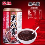 泰山牌沖縄黒飴黒八宝粥(黒糖味ハッポウカユ) 中華お土産定番・台湾超人気商品・台湾風味名物 冷凍便商品とは同梱出来ません。