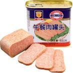 【大セール】梅林午餐肉 397g ポークランチョンミート 中国名物 酒のつまみ・しゃぶしゃぶ・炒め・サラダ 人気商品
