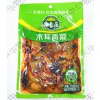 中華物産食品 漬物 吉香居 しいたけとシャンツァイ入りザーサイ 木耳香菜 味付けザーサイ  ザー菜スライス おつまみ 180g