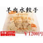 草原肥羊水餃子1kg 羊肉水餃子 中華水餃子 中華名物 中華食材 ギョウザ 羊肉