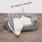 ショッピングカバー Louis Dog (ルイスドッグ) Egyptian Cotton Boom/Grey Cushion Cover(Super)