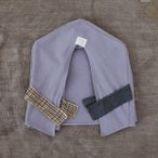 ショッピングカバー Louis Dog (ルイスドッグ) Organic Peekaboo/Oxford Lavender Frame Cover(Grand)