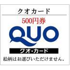 クオカードQUO500円券企業広告柄(ギフト券・商品券・金券・ポイント消化)(3万円でさらに送料割引)