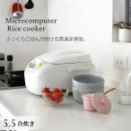 タイガー 炊きたて マイコン炊飯器 5.5合 JBH-G101W JBH-G101-W