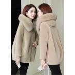 女性 防寒 毛皮コート おしゃれ ショートコート上着 ジャケット アウター 暖かい 冬物 レディース オフィス OL 通勤 人気 フェイクファー