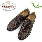 Church's BURWOOD MET 8746 チャーチ レディース レザーシューズ 革靴 スタッズ 〔SK〕