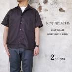INDIVIDUALIZED SHIRTS インディビジュアライズドシャツ CAMP COLLAR SHORT SLEEVE SHIRTS キャンプカラー ショートスリーブシャツ メンズ コットンツイル〔FL〕