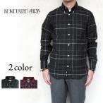 ショッピングINDIVIDUALIZED Individualized Shirts STANDARD FIT 1921 CHECK  チェック ボタンダウンシャツ メンズ  コットンネル生地〔FL〕
