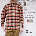 INDIVIDUALIZED SHIRTS インディビジュアライズドシャツ Standard Fit Botton Down Shirts スタンダードフィット ボタンダウンシャツ チェック ネル 〔FL〕