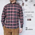 INDIVIDUALIZED SHIRTS インディビジュアライズドシャツ Standard Fit Botton Down Shirts スタンダードフィット ボタンダウンシャツ チェック メンズ 〔FL〕