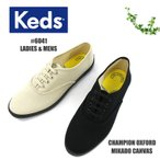 KEDS(ケッズ) CHAMPION OXFORD MIKADO CANVAS チャンピオン オックスフォード ミカドキャンバス スニーカー #6041 レディース メンズ〔SK〕