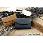 SETTLER 3 Fold Purse Wallet セトラー 3つ折り財布 OW-1112〔FL〕