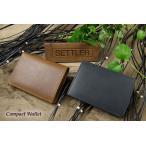 SETTLER Compact Wallet セトラー 2つ折り財布 OW-1565〔FL〕