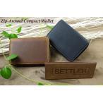 SETTLER Zip-Around Compact Wallet  セトラー ジップ式2つ折り財布 OW-2534〔FL〕