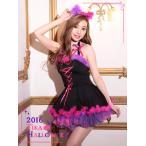 ショッピングコスプレ Tikaティカ コスプレ衣装♪3setチェシャ猫コスプレミニドレス
