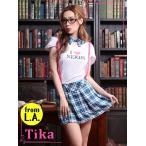 ショッピングコスプレ コスプレ ハロウィン Tika ティカ 3set スクールガールセット コスチューム  ドレス 仮装 衣装