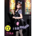 ショッピングコスプレ コスプレ ハロウィン Tika ティカ 4setゾンビウエイトレスコスチュームセット コスチューム  ドレス 仮装 衣装