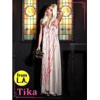 ショッピングコスプレ コスプレ ハロウィン Tika ティカ 3setセクシーゾンビコスチュームセット コスチューム  ドレス 仮装 衣装
