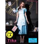 ショッピングコスプレ コスプレ ハロウィン Tika ティカ 3set コスチュームセット ドレス 仮装 衣装