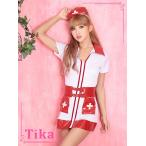 ショッピングコスプレ コスプレ ハロウィン Tika ティカ 4setナースコスチュームセット コスチューム  ドレス 仮装 衣装