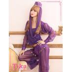 ショッピングコスプレ コスプレ ハロウィン Tika ティカ 4set アラビアンコスチュームセット ドレス 仮装 衣装