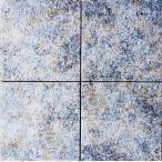 磁器 タイル 300角 ナチュラル系 ブルー・青系。滑り止め(防滑)防汚(汚れに強い)内装用・外装用・敷石(内・外床、玄関 ポーチ・ベランダ・ガーデニング・