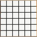 スーパーホワイト 特白 50角 モザイクタイル 1シート(36粒)単位の単価です 内壁、内床(浴室・キッチン カウンター・トイレ・テーブル)のDIYリフォーム