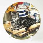 絵皿 猫 ロイヤルドルトン キャットプレート ジェフリー・トリストラム The Kitchen Cat