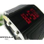 Yahoo!芦屋ダイヤモンドシリコンリストバンドウォッチ/LED腕時計 デジタル/SYULLA=シュラ