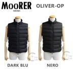 MOORER ムーレー ダウンベスト OLIVER-OP NERO DARK BLU ダウンジャケット 2016-2017AW ※返品・交換不可