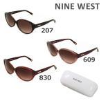 国内正規品 NINE WEST ナインウエスト サングラス NW596SAF 207 609 830 レディース UVカット アジアンフィット ブランド