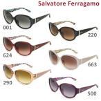 国内正規品 Salvatore Ferragamo サルヴァトーレ フェラガモ SF683SA 001 220 624 663 290 500 サングラス アジアンフィット レディース UVカット