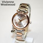 Vivienne Westwood (ヴィヴィアンウエストウッド) 腕時計 VV006RSSL ORB シルバー/ピンクゴールド 時計 レディース ヴィヴィアン タイムマシン